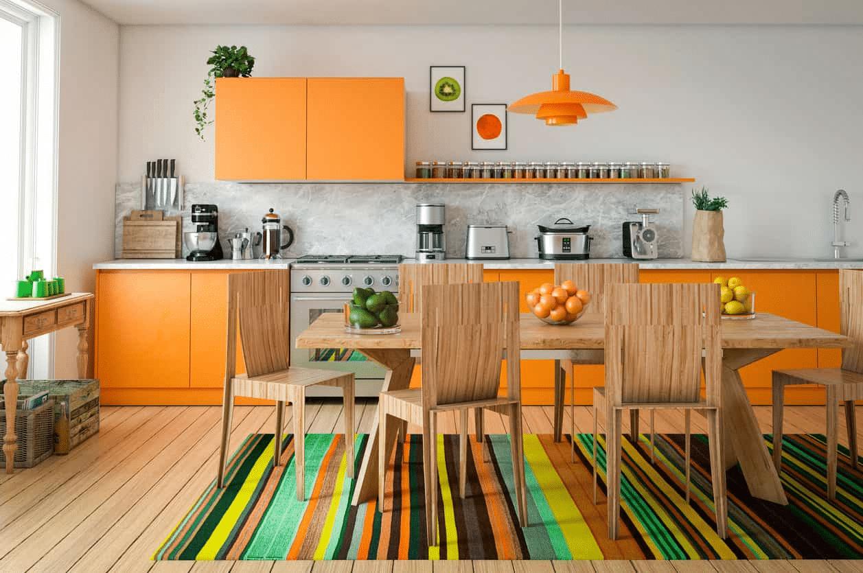 Jaké barvy se hodí do ložnice, koupelny nebo do kuchyně? 1