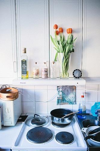 Nepořádek v kuchyni