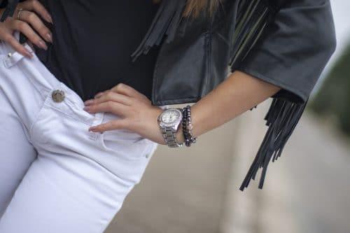 Jak nosit bílé kalhoty, ve kterých budete vypadat jako dáma? 2