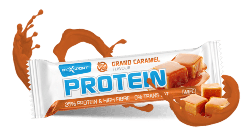 Max Sport uvádí: Protein Bar Grand Caramel 2