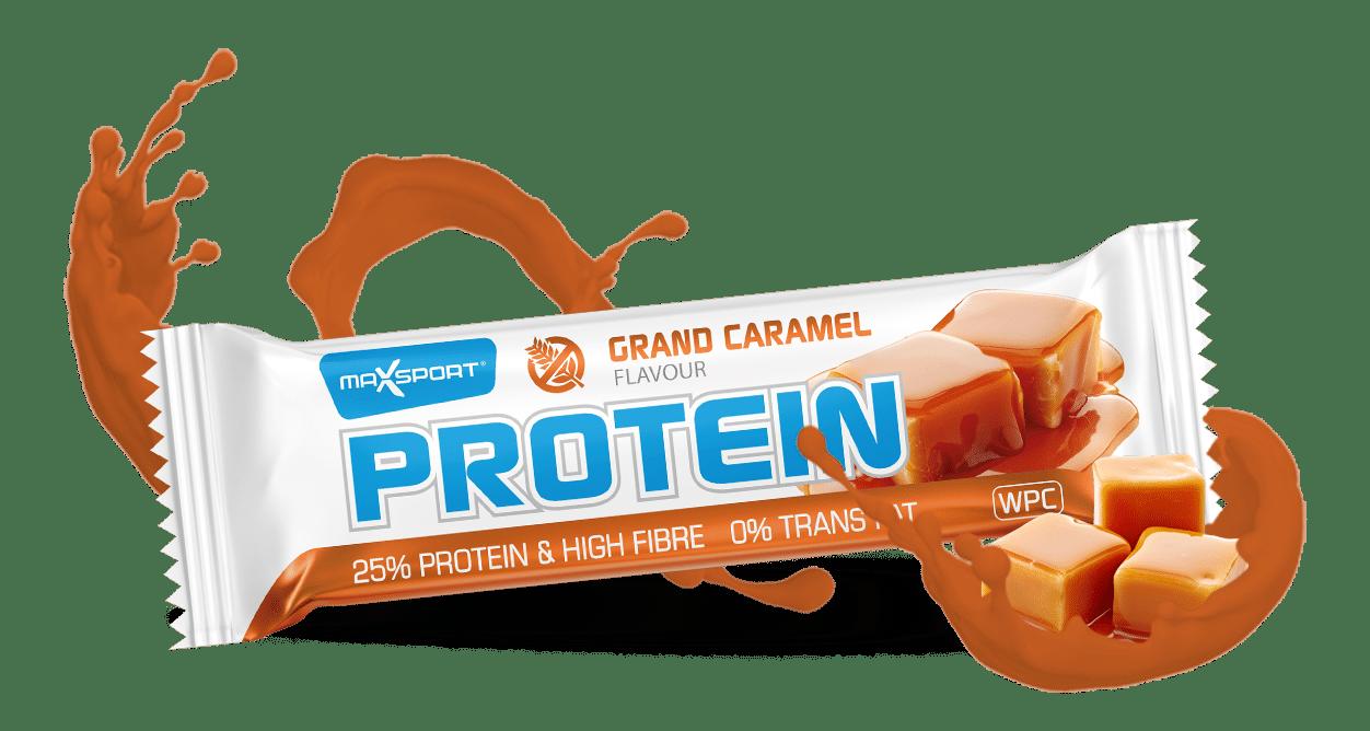 Max Sport uvádí: Protein Bar Grand Caramel 14