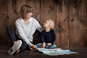 matka a dítě 1